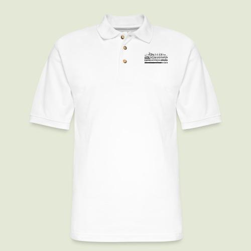 4 Accords Toltèques - Men's Pique Polo Shirt