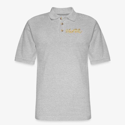 KMATiKC Gold Logo - Men's Pique Polo Shirt
