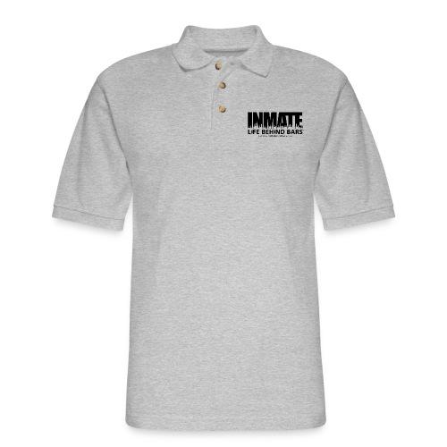 INMATE SmallCanvas - Men's Pique Polo Shirt