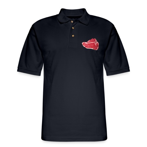 Where's the Meat? - Men's Pique Polo Shirt