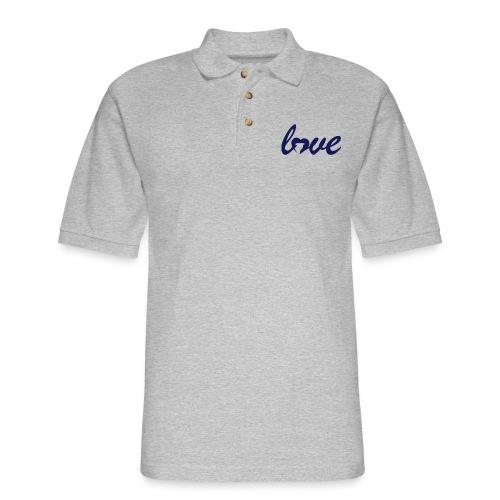 Dog Love - Men's Pique Polo Shirt