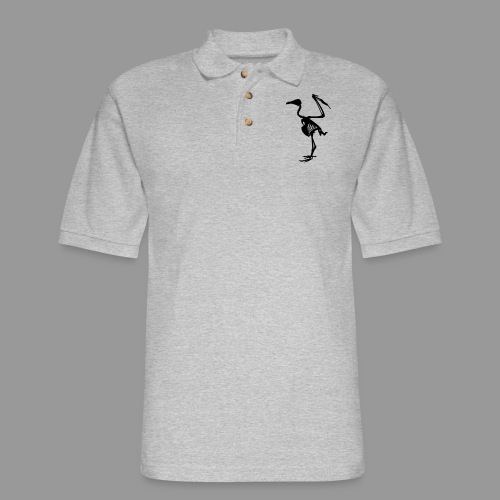 Vulture Bones - Men's Pique Polo Shirt
