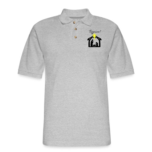 Rejoice - Men's Pique Polo Shirt
