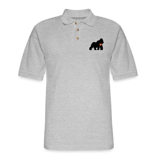 Gorilla Love - Men's Pique Polo Shirt