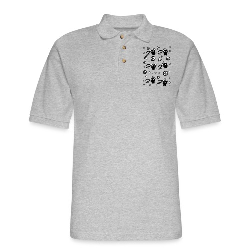 2020 year of the rat - Men's Pique Polo Shirt