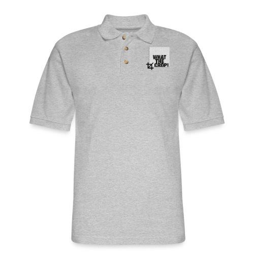 What the Crop! - Men's Pique Polo Shirt
