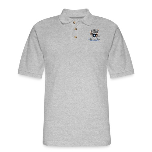 AMillionViewsADay - every view counts! - Men's Pique Polo Shirt