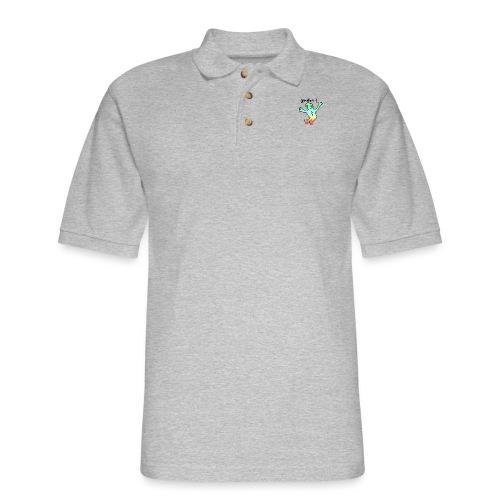 idk do u? tee - Men's Pique Polo Shirt