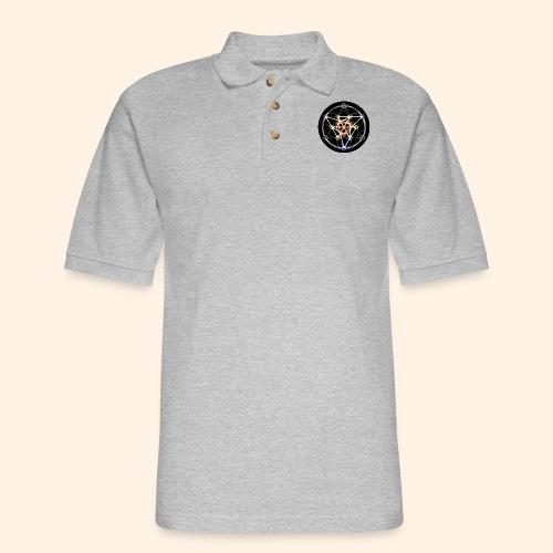 Classic Alchemical Cycle - Men's Pique Polo Shirt