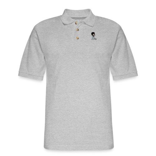 axelofabyss self portrait - Men's Pique Polo Shirt