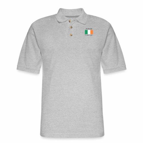 Proudly Irish, Proudly Franklin - Men's Pique Polo Shirt