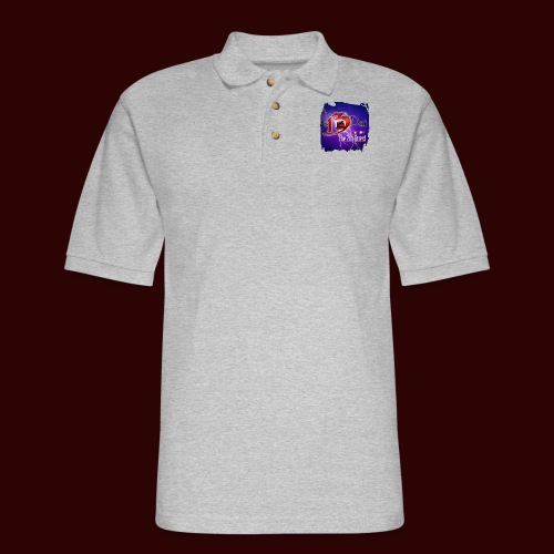 The 13th Doll Logo With Lightning - Men's Pique Polo Shirt