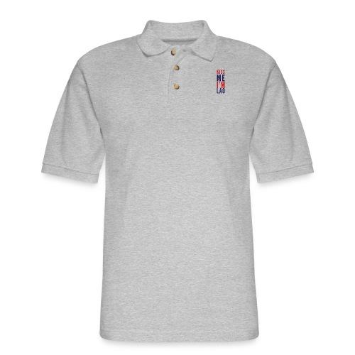 Kiss Me - Men's Pique Polo Shirt
