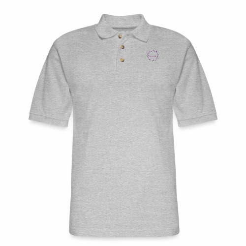 FU*K OFF FLOWER - Men's Pique Polo Shirt