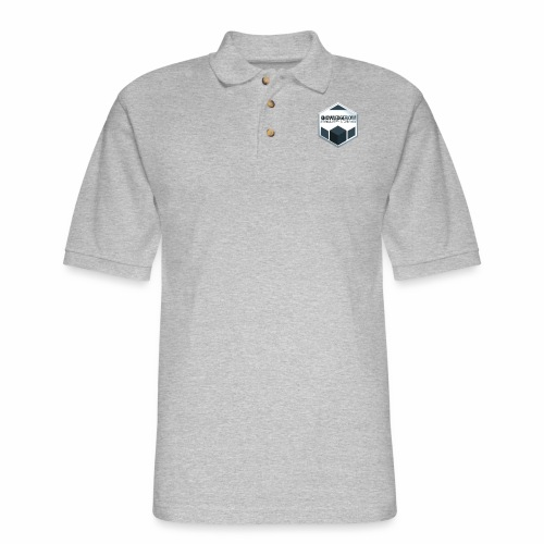 KnowledgeFlow Cybersafety Champion - Men's Pique Polo Shirt