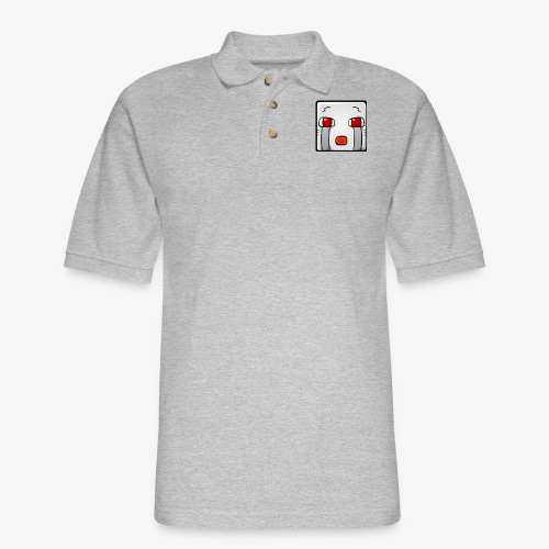 NetherGhast Shadder Kids T Shirt - Men's Pique Polo Shirt