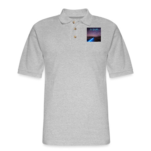 Tasmanian Sea Sparkles - Men's Pique Polo Shirt
