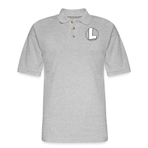 Luga Spiral (inc. L) - Men's Pique Polo Shirt