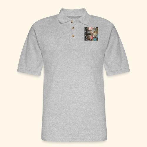 Streetart Melbourne. - Men's Pique Polo Shirt