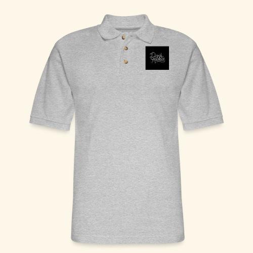 dank memes- Meme Worthy Apparel - Men's Pique Polo Shirt