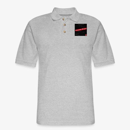 Wickedest Woman Advertisement - Men's Pique Polo Shirt