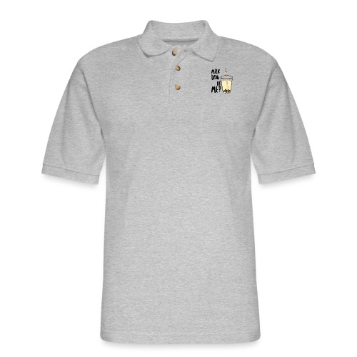 Milk Tea or Me? - Men's Pique Polo Shirt