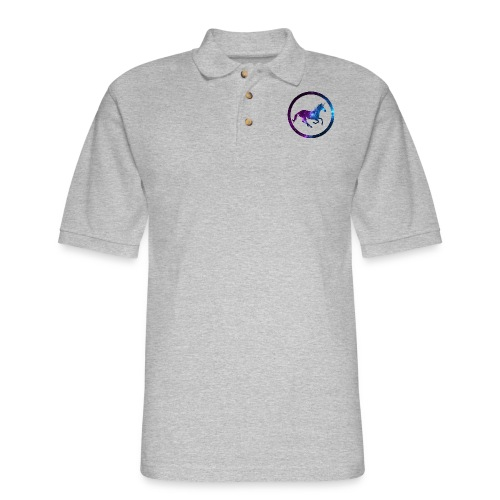 Believe Unicorn Universe 3 - Men's Pique Polo Shirt