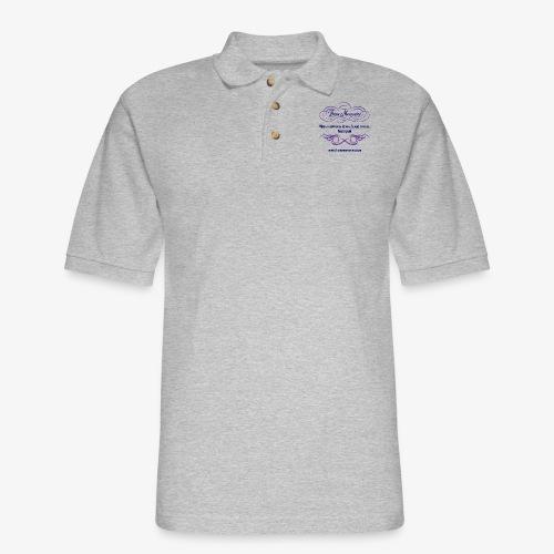Those Memories Logo - Men's Pique Polo Shirt