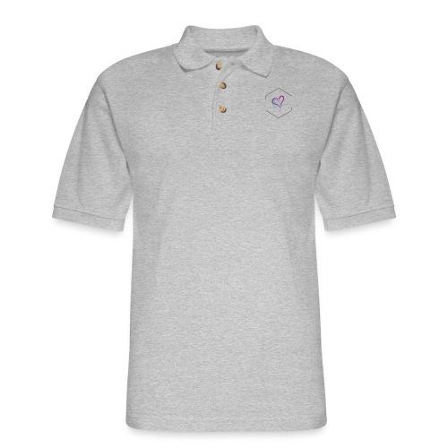 Love Diamond - Men's Pique Polo Shirt