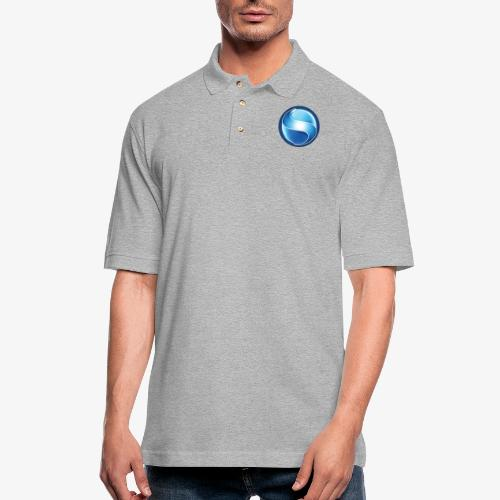 Solar System Scope : Logo - Men's Pique Polo Shirt