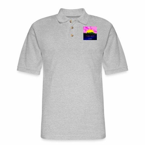 Seaside - Men's Pique Polo Shirt