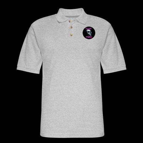 Salvage Punk Shirt 3d - Men's Pique Polo Shirt
