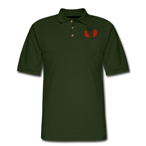 It s okay to break to recreate - Men's Pique Polo Shirt