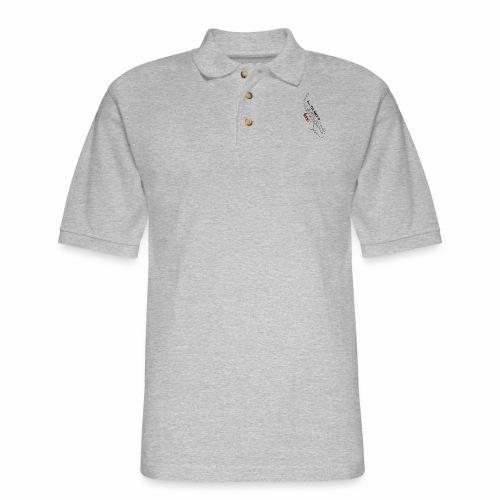All you need is Sax! · Alto Version - Men's Pique Polo Shirt