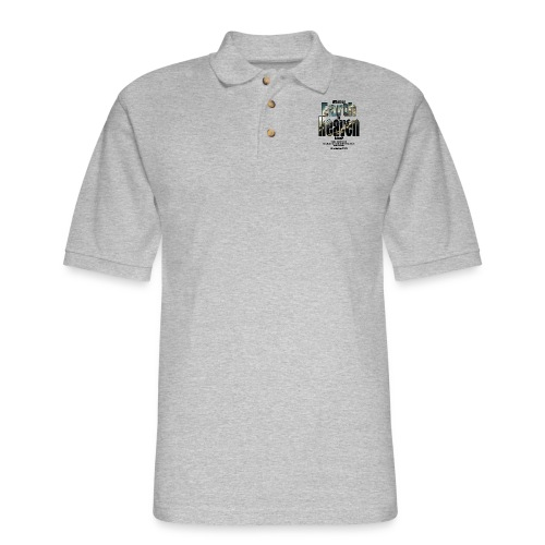 What on earth is heaven like? - Men's Pique Polo Shirt
