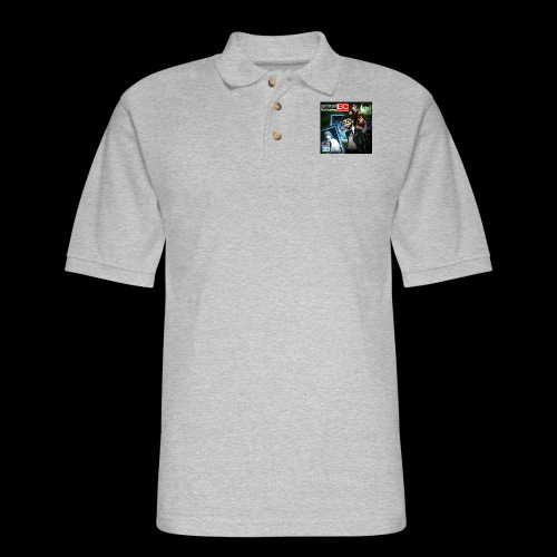 RPGBC Year One Cover Art - Men's Pique Polo Shirt