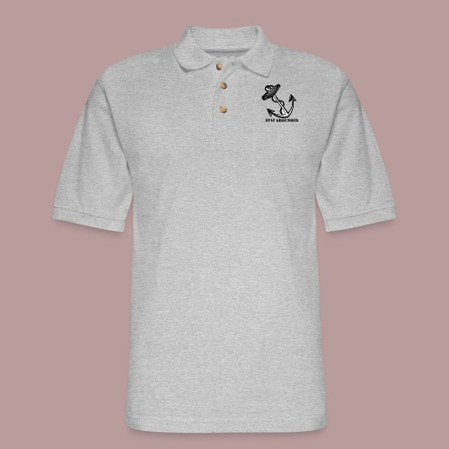 Stay grounded - Men's Pique Polo Shirt