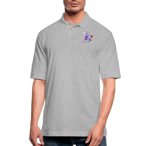 Change the World - Men's Pique Polo Shirt