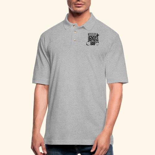 BANJO_RABAB - Men's Pique Polo Shirt