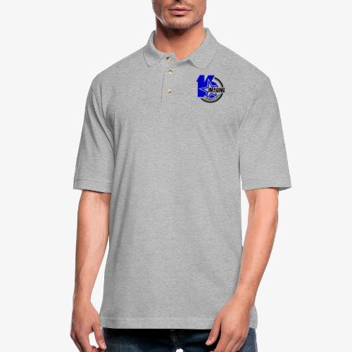16IMAGING Badge Color - Men's Pique Polo Shirt