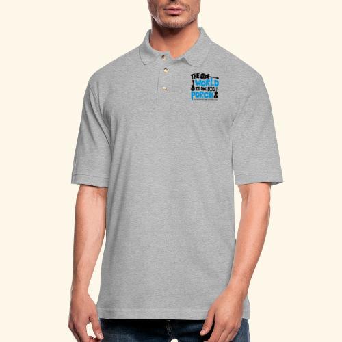 BIG_PORCH - Men's Pique Polo Shirt