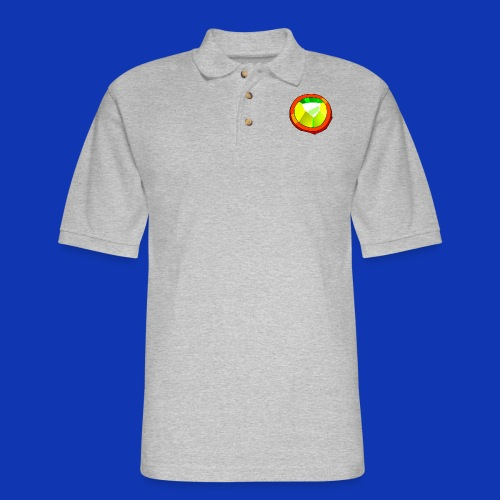 Life Crystal T-Shirt - Men's Pique Polo Shirt