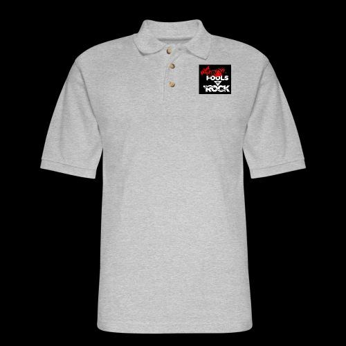 Fool design - Men's Pique Polo Shirt
