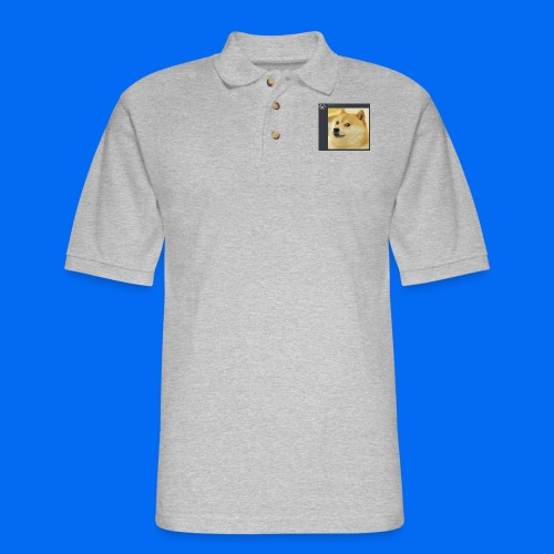 Doge Shirt - Men's Pique Polo Shirt