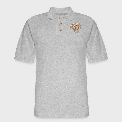 How I Roll D&D Tshirt - Men's Pique Polo Shirt