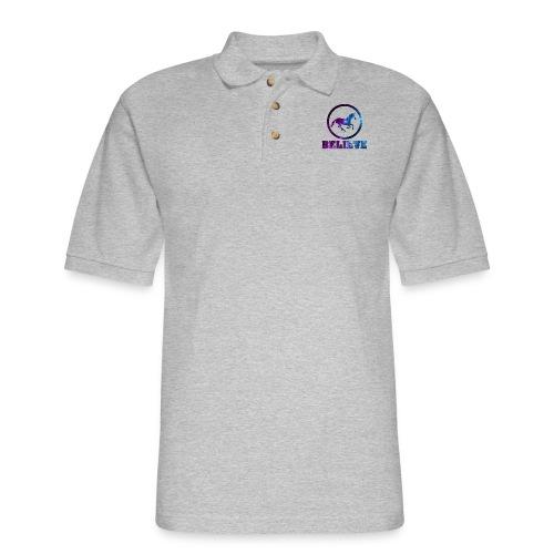 Believe Unicorn Universe 6 - Men's Pique Polo Shirt