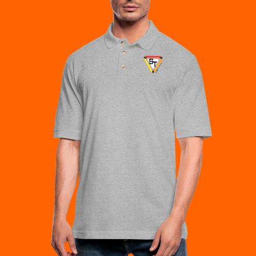 SarinTal Logo - Men's Pique Polo Shirt