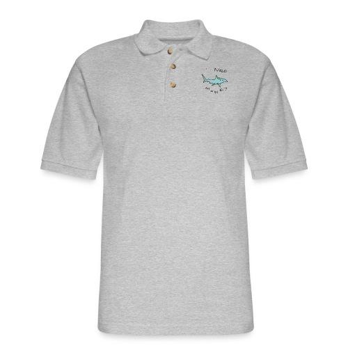 sharko - Men's Pique Polo Shirt