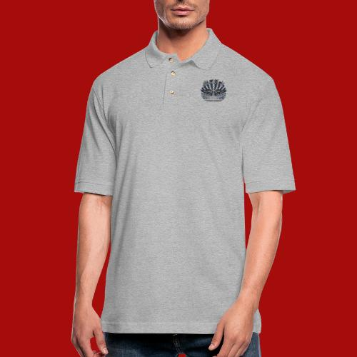 BloodShot Air Force with black - Men's Pique Polo Shirt