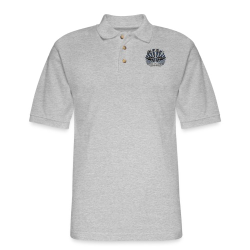 BloodShot Air Force with black - Men's Pique Polo Shirt